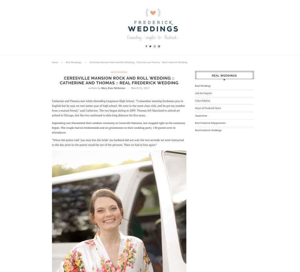 Frederick Weddings