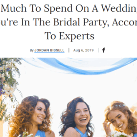 How Much To Spend On A Wedding Gift If You're In The Bridal Party, According To Experts