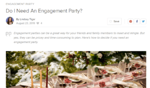 Do I Need An Engagement Party?