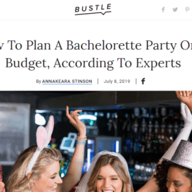 How To Plan A Bachelorette Party On A Budget, According To Experts