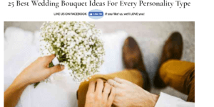25 Best Wedding Bouquet Ideas For Every Personality Type