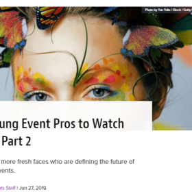 25 Young Event Pros to Watch 2019: Part 2